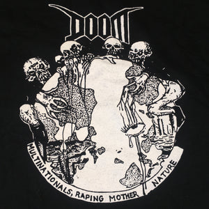 "Vintage Doom ""Multinationals, Raping Mother Nature"" T-Shirt"