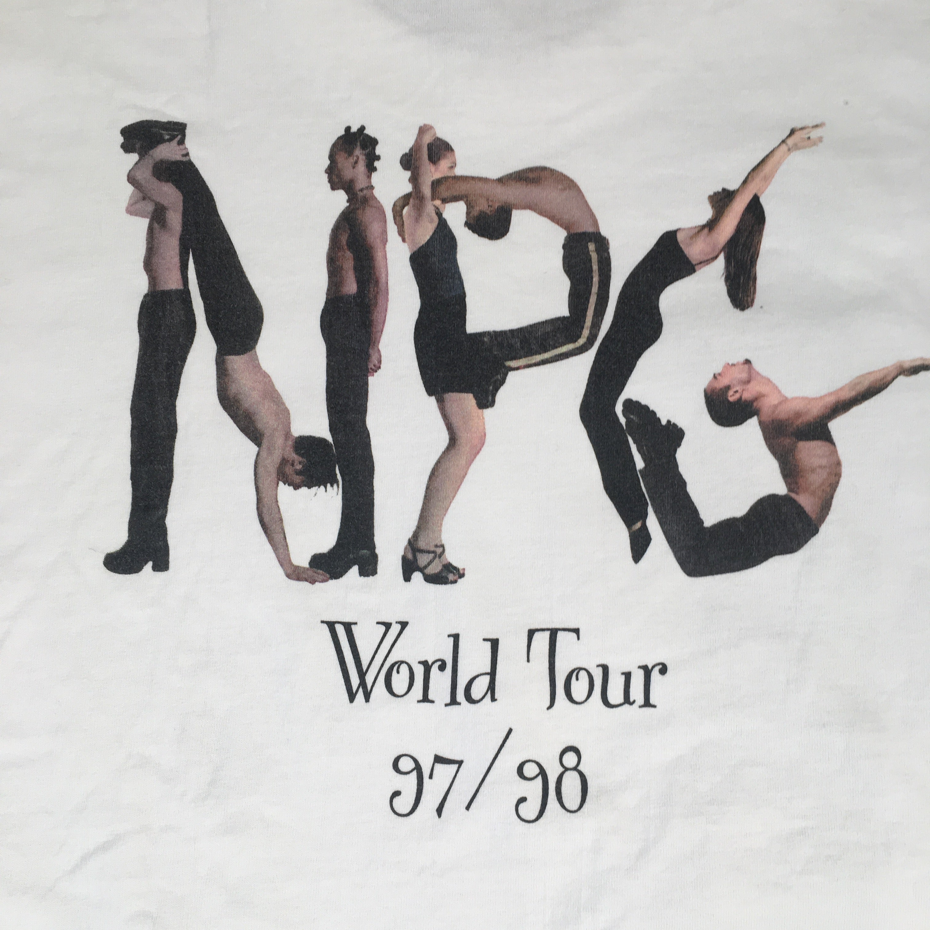 "Vintage Prince & The New Power Generation ""Around The World In A Day"" T-Shirt"