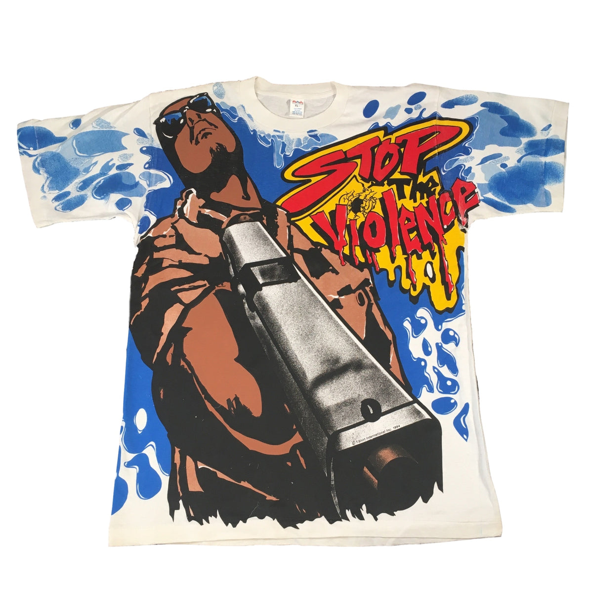 "Vintage City Life ""Stop The Violence"" T-Shirt"