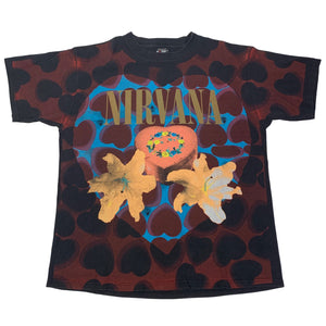 "Vintage Nirvana ""Heart Shaped Box"" T-Shirt"