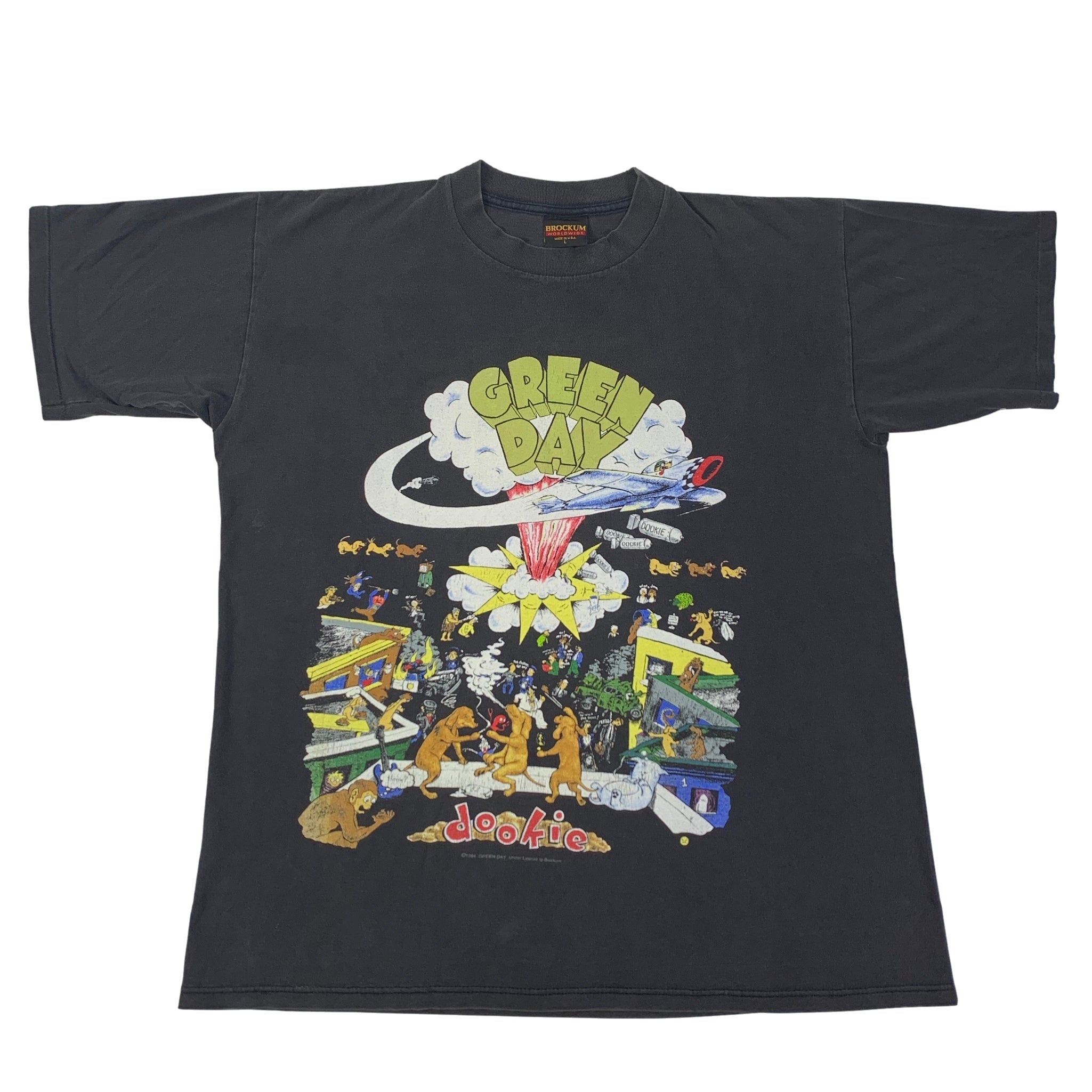 "Vintage Green Day ""Dookie Tour 1994"" T-Shirt"