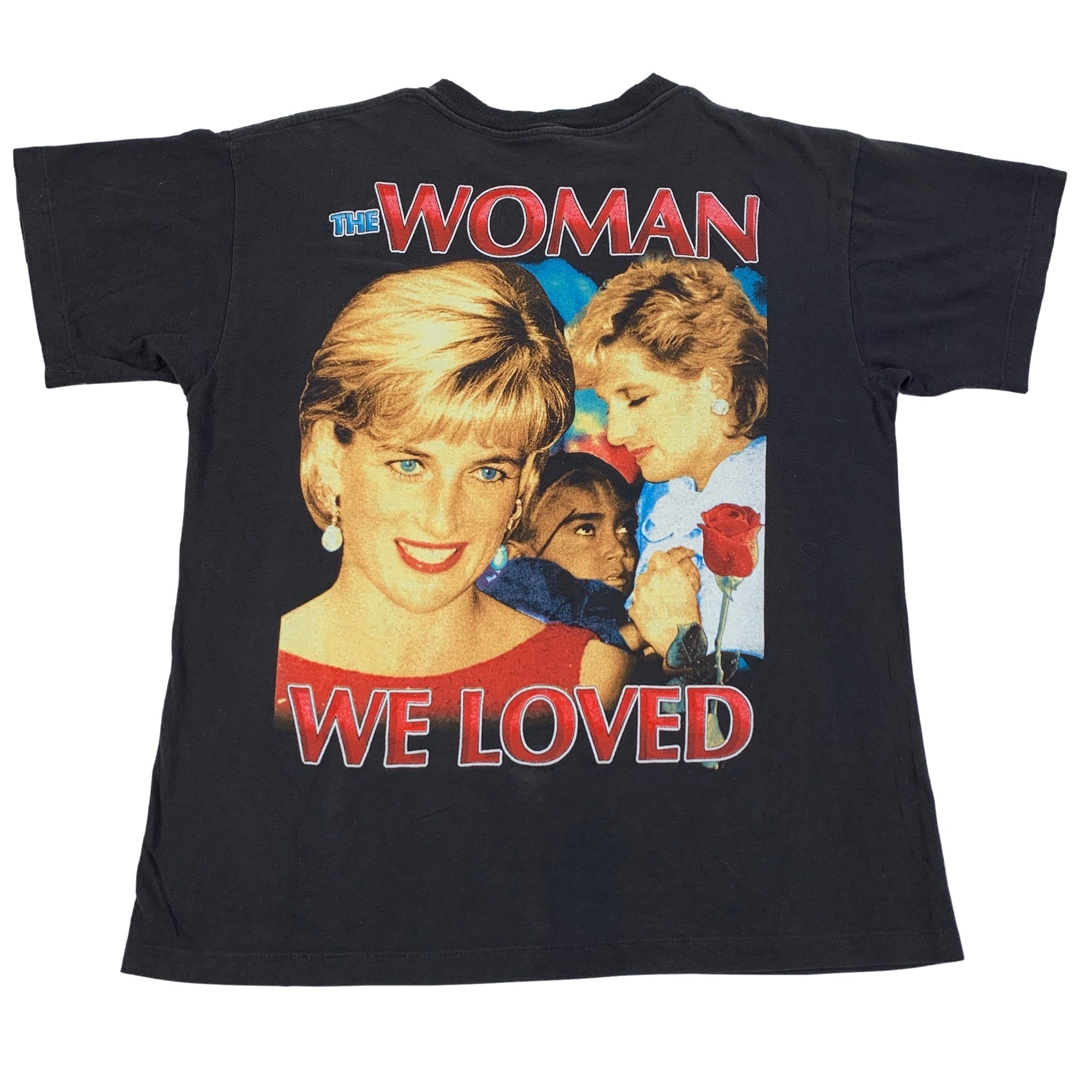 "Vintage Princess Diana ""The Woman We Loved"" T-Shirt"