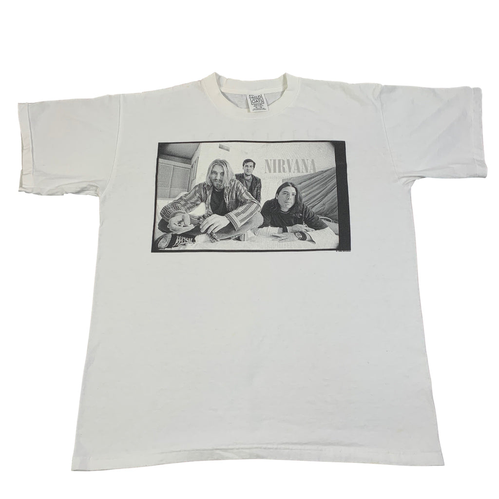 "Vintage Nirvana ""Group Photo"" T-SHirt"