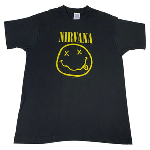 "Vintage Nirvana ""Smiley Face"" T-Shirt"