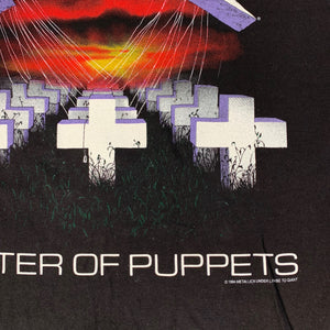 "Vintage Metallica ""Master Of Puppets"" T-Shirt"