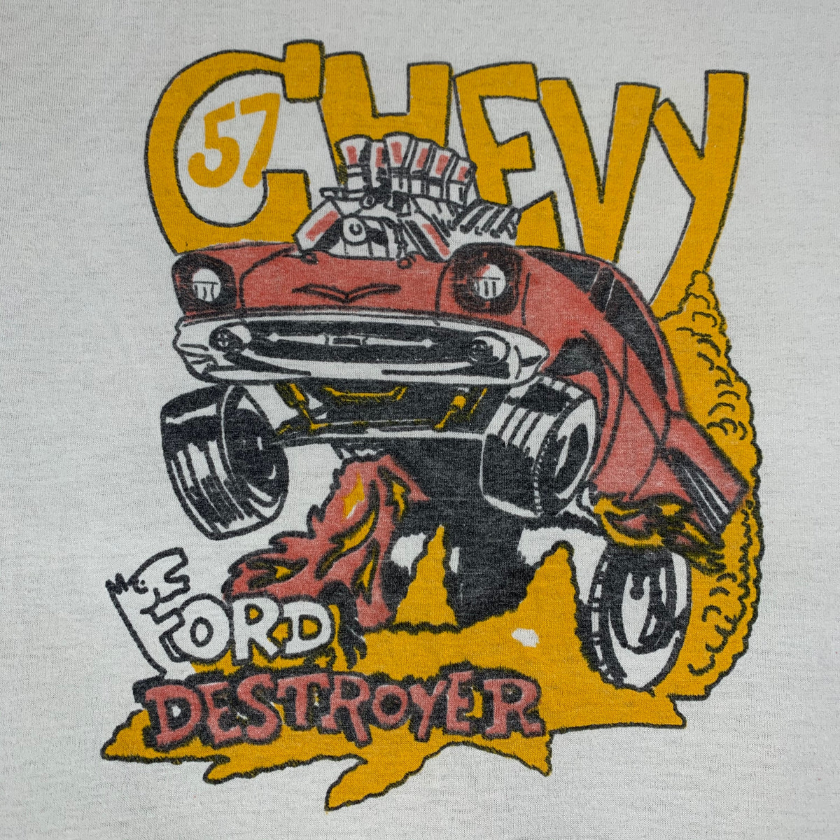 "Vintage Chevy ""Ford Destroyer"" T-Shirt"