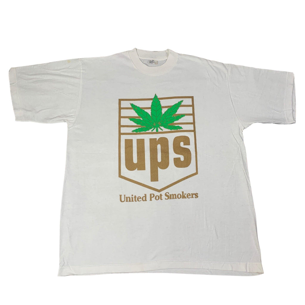 "Vintage UPS ""United Pot Smokers"" T-Shirt"