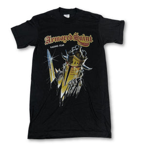 "Vintage Armored Saint ""Raising Fear"" T-Shirt - jointcustodydc"