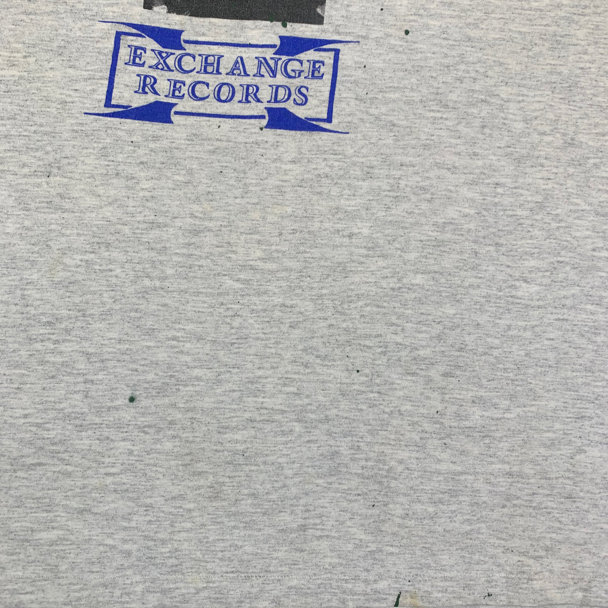 "Vintage Knockdown ""Exchange Records"" T-Shirt"