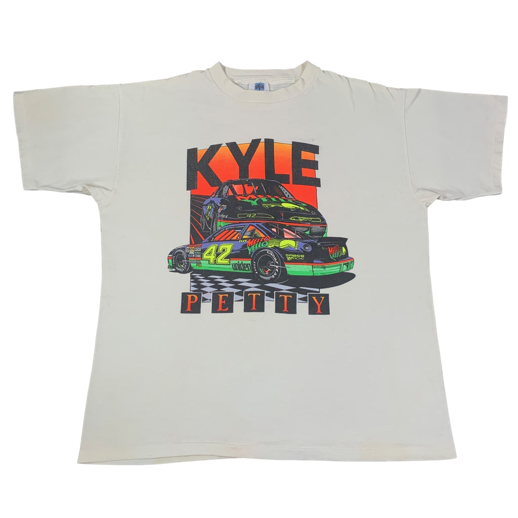"Vintage Nascar Kyle Petty ""Mello Yello"" T-Shirt"