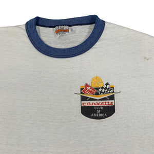 "Vintage Corvette ""Club Of America"" Ringer Shirt"