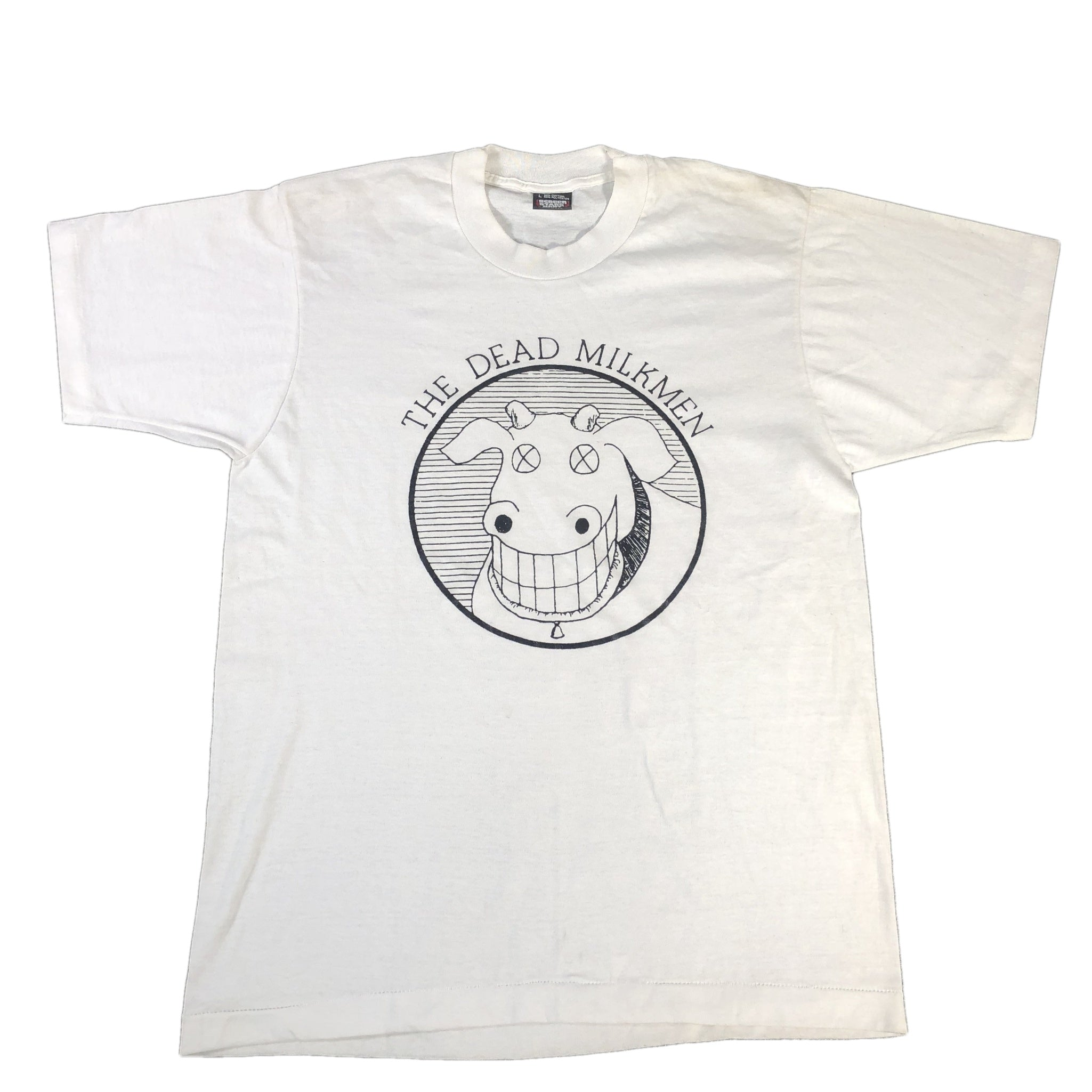 "Vintage The Dead Milkmen ""Cow"" T-Shirt (L)"