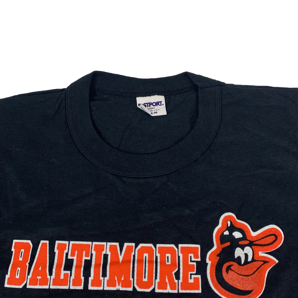 "Vintage Baltimore Orioles ""Eastport"" T-Shirt"