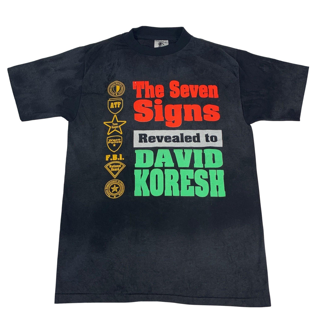 "Vintage David Koresh ""Branch Davidians"" T-Shirt - jointcustodydc"