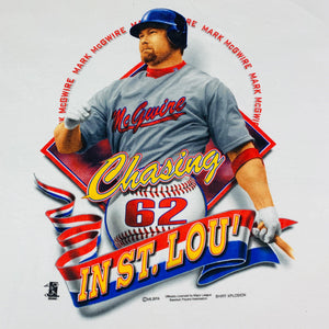 "Vintage Mark McGwire ""Chasing In St. Lou"" T-Shirt"