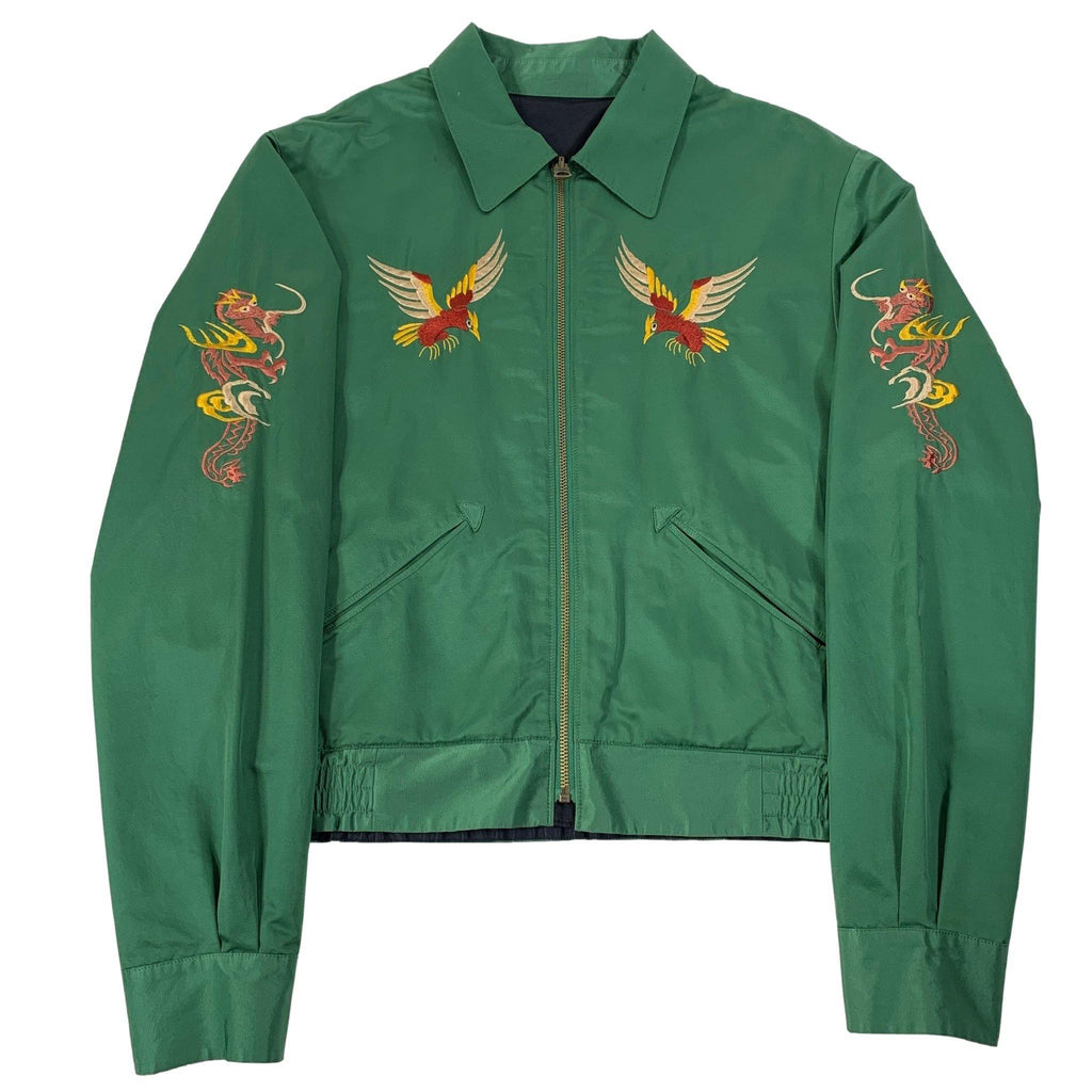 "Vintage Polo By Ralph Lauren Embroidered Reversible ""Sukajan"" Jacket"