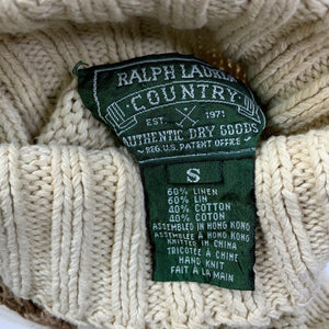 "Vintage Polo Ralph Lauren ""Ski Bear"" Turtleneck Sweater"