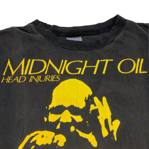 "Vintage Midnight Oil ""Head Injuries"" T-Shirt"