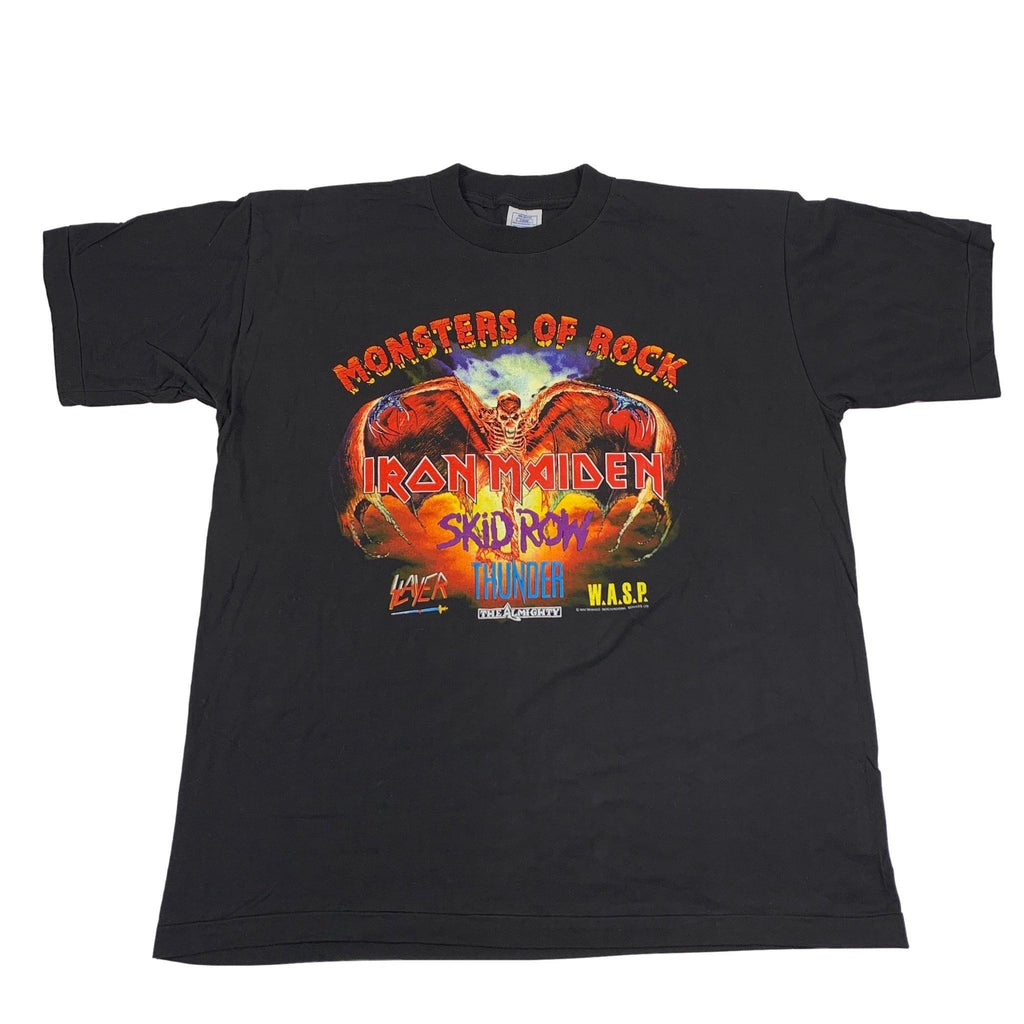 "Vintage Monsters Of Rock ""Iron Maiden / Wasp / Slayer"" T-Shirt"