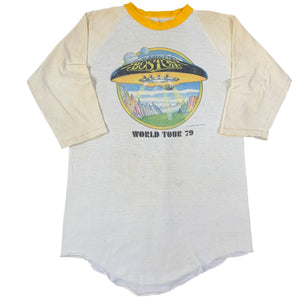 "Vintage Boston ""World Tour 79"" Raglan"