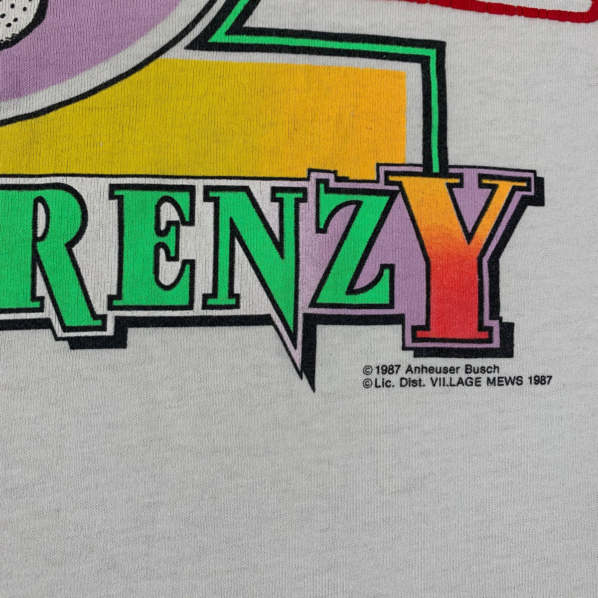 "Vintage Spuds Mackenzie ""Party Frenzy"" T-Shirt - jointcustodydc"