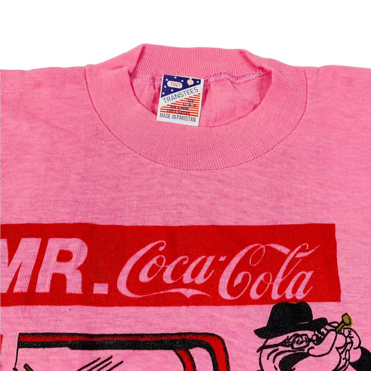 "Vintage Mr. Coca Cola ""Popeye"" T-Shirt - jointcustodydc"