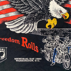 "Vintage Rolling Thunder ""Freedom Rolls"" T-Shirt"