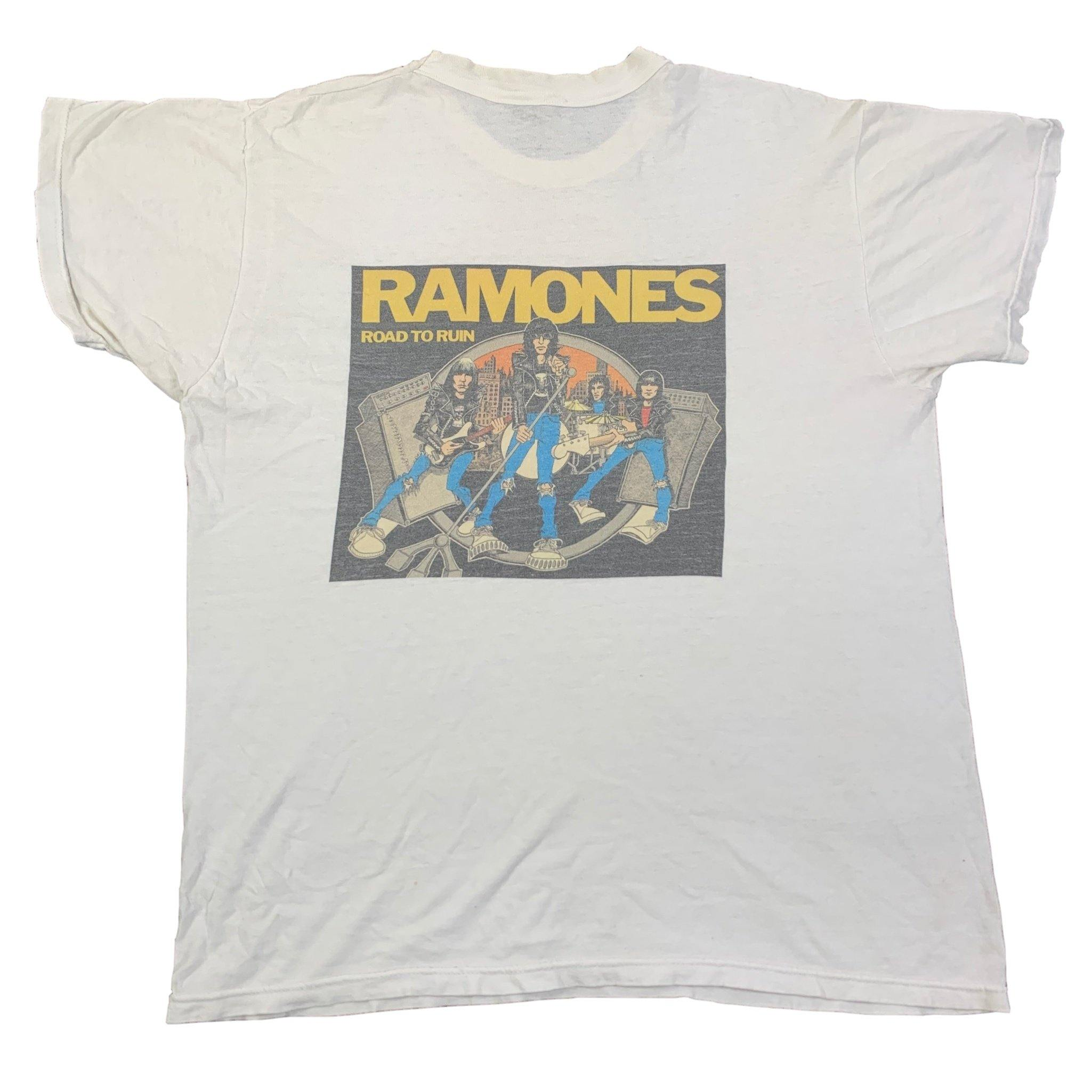 "Vintage Ramones ""Road To Ruin"" T-Shirt"