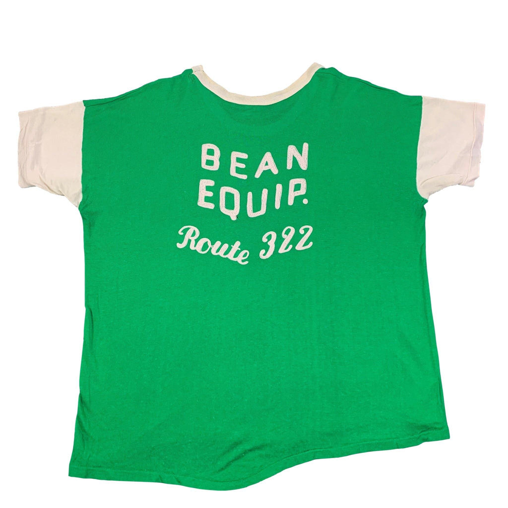 "Vintage 1950's Bean Equip. ""Route 322"" Jersey"