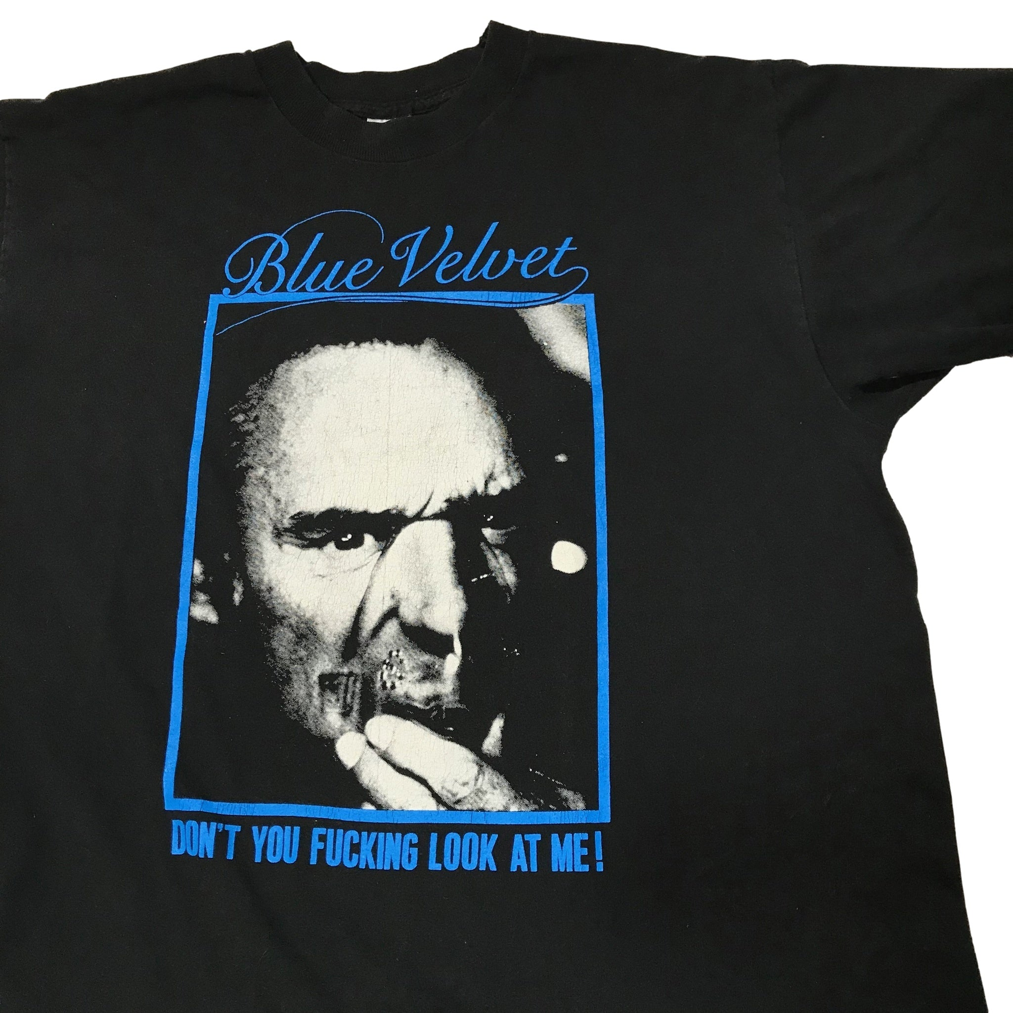 "Vintage Blue Velvet ""Don't You Look at Me"" T-Shirt"