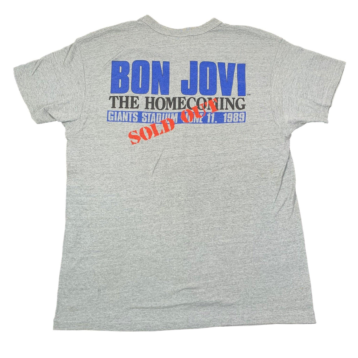 "Vintage Bon Jovi ""The Homecoming"" T-Shirt - jointcustodydc"