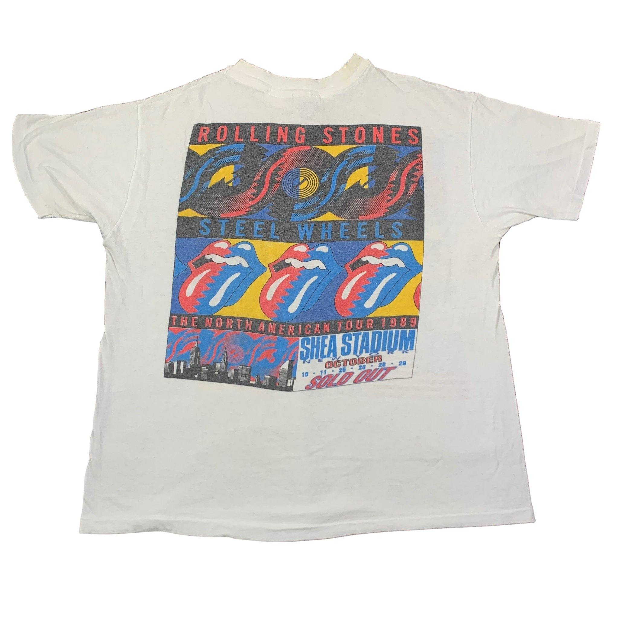 "Vintage Rolling Stones ""Steel Wheels"" Tour T-Shirt"
