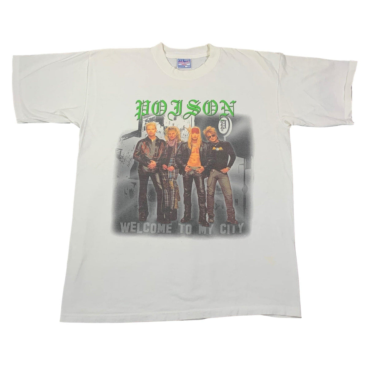 "Vintage Poison ""Hollyweird"" T-Shirt - jointcustodydc"