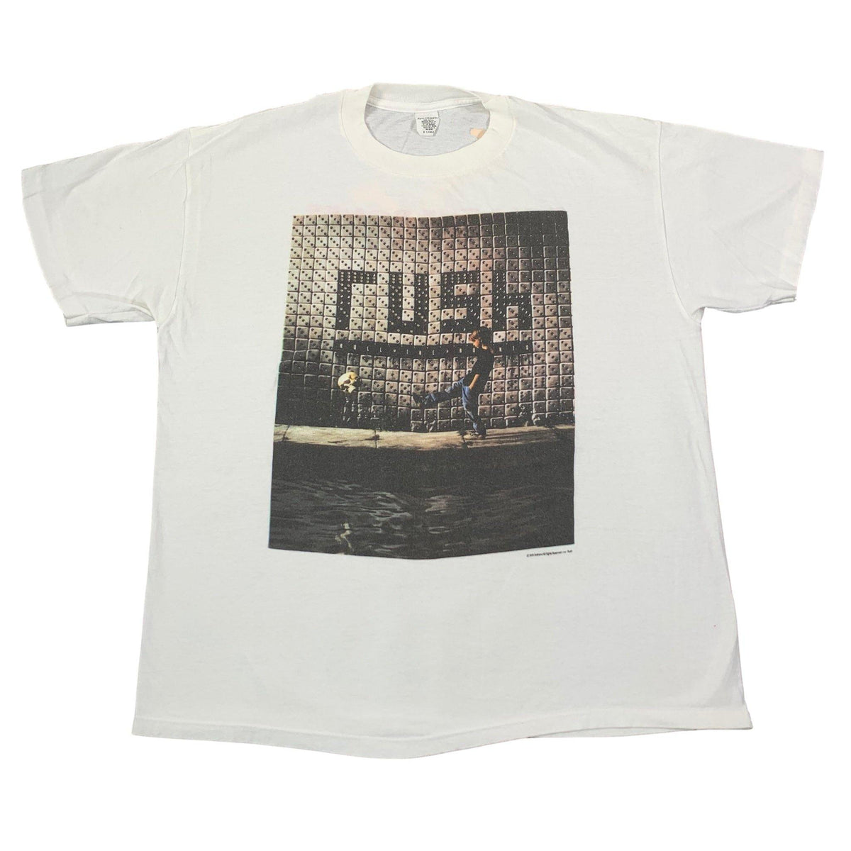 "Vintage Rush ""Roll The Bones"" T-Shirt - jointcustodydc"