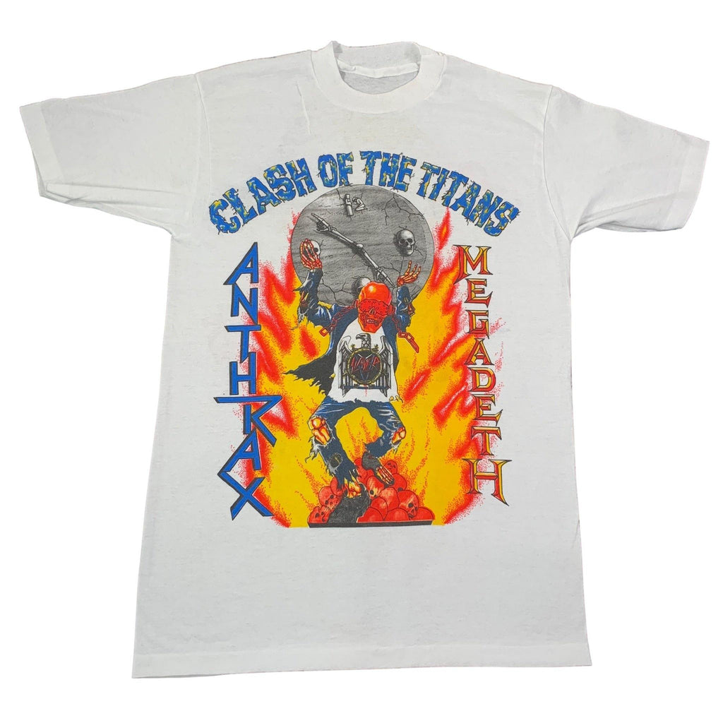 "Vintage Anthrax / Megadeth ""Clash Of Titans"" T-Shirt"