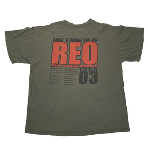 "Vintage REO Speedwagon ""Rock You"" Tour T-Shirt"