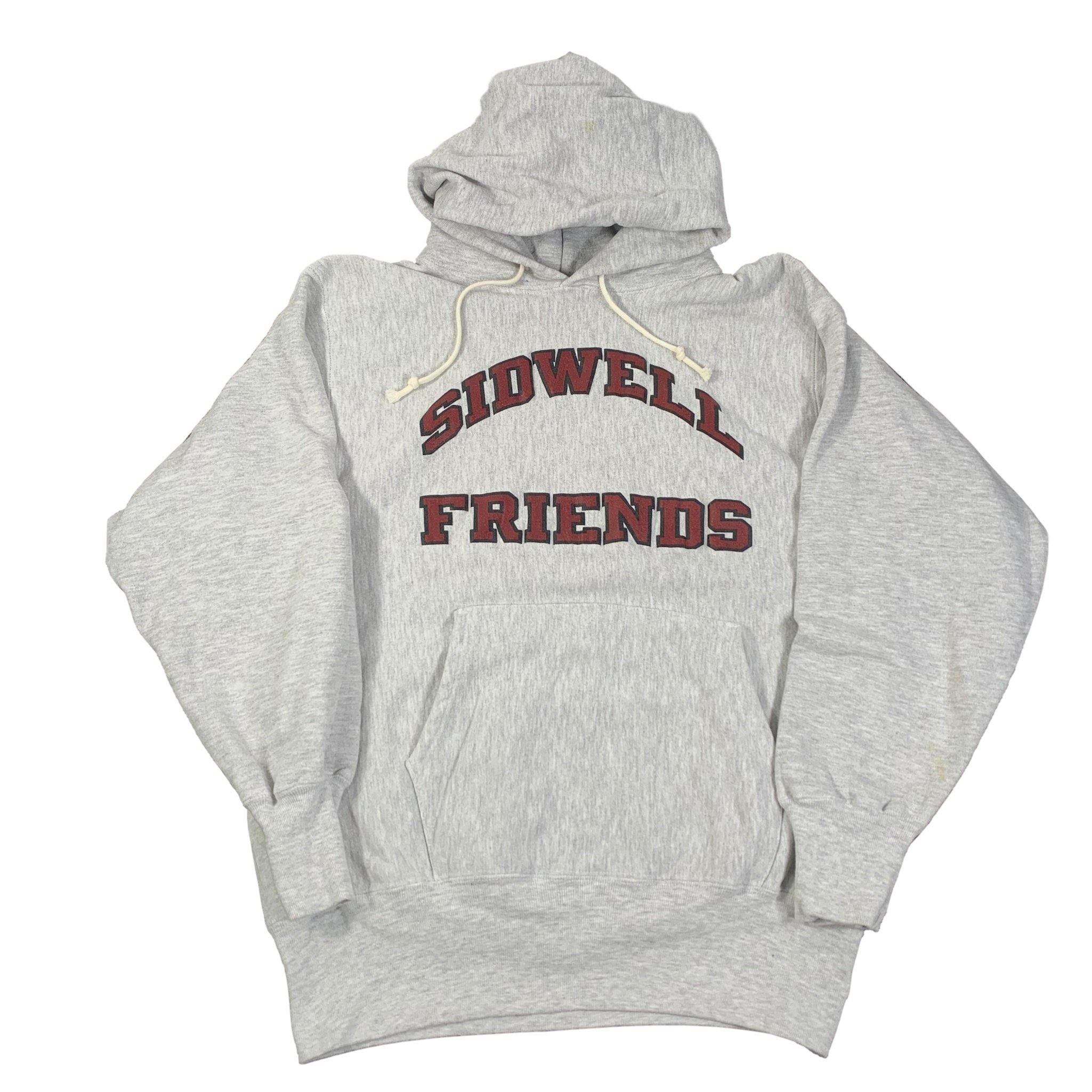 "Vintage Champion Reverse Weave ""Sidwell Friends"" Pullover Hoodie"