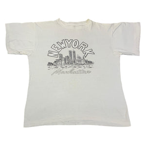 "Vintage New York City ""Manhattan"" T-Shirt"