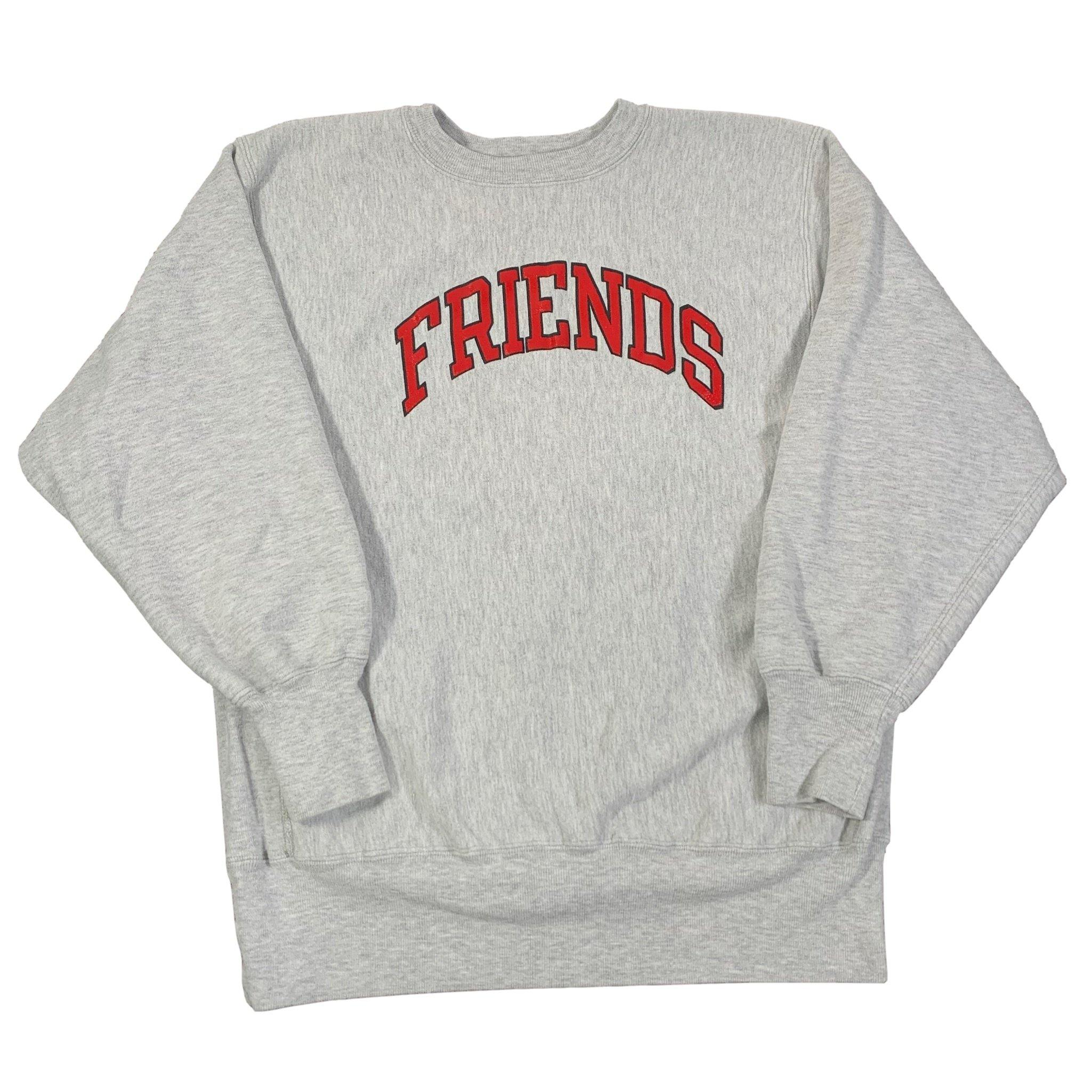 "Vintage Champion Reverse Weave ""Friends"" Crewneck Sweatshirt"