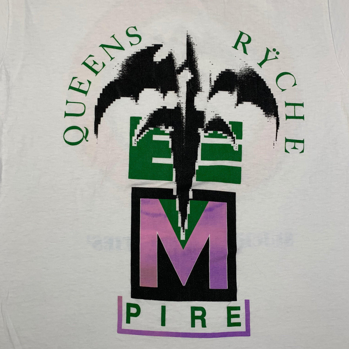 "Vintage Queensryche ""Empire"" T-Shirt - jointcustodydc"