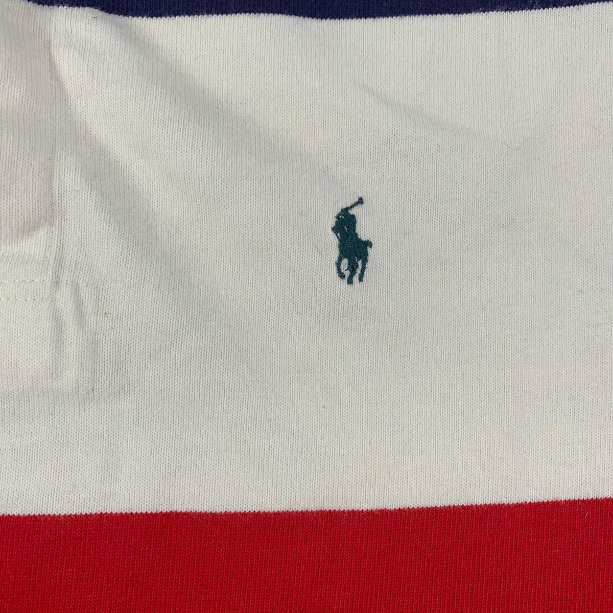 "Vintage Ralph Lauren Polo ""Rugby"" Color Block Long Sleeve"