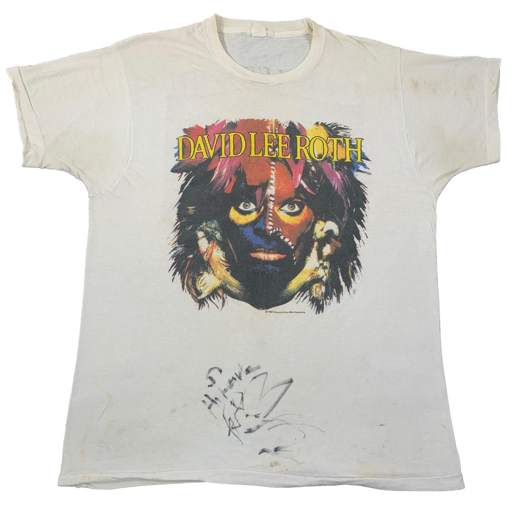 "Vintage David Lee Roth ""The World Tour"" T-Shirt"