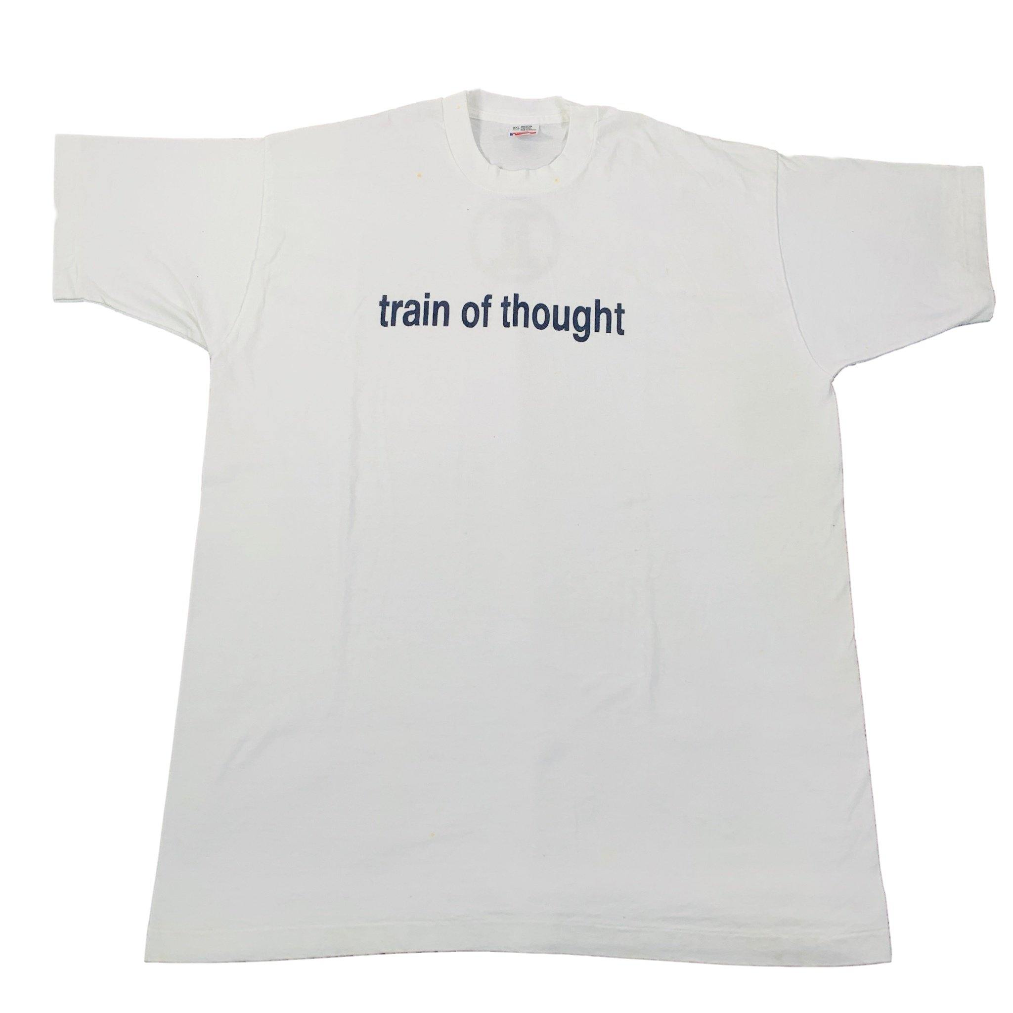 "Vintage Train Of Thought ""TT"" T-Shirt"