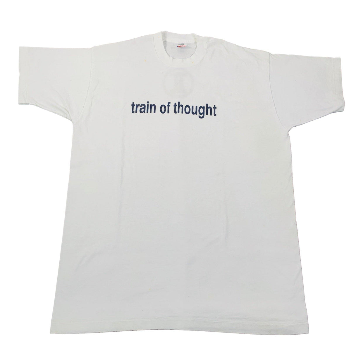 "Vintage Train Of Thought ""TT"" T-Shirt - jointcustodydc"