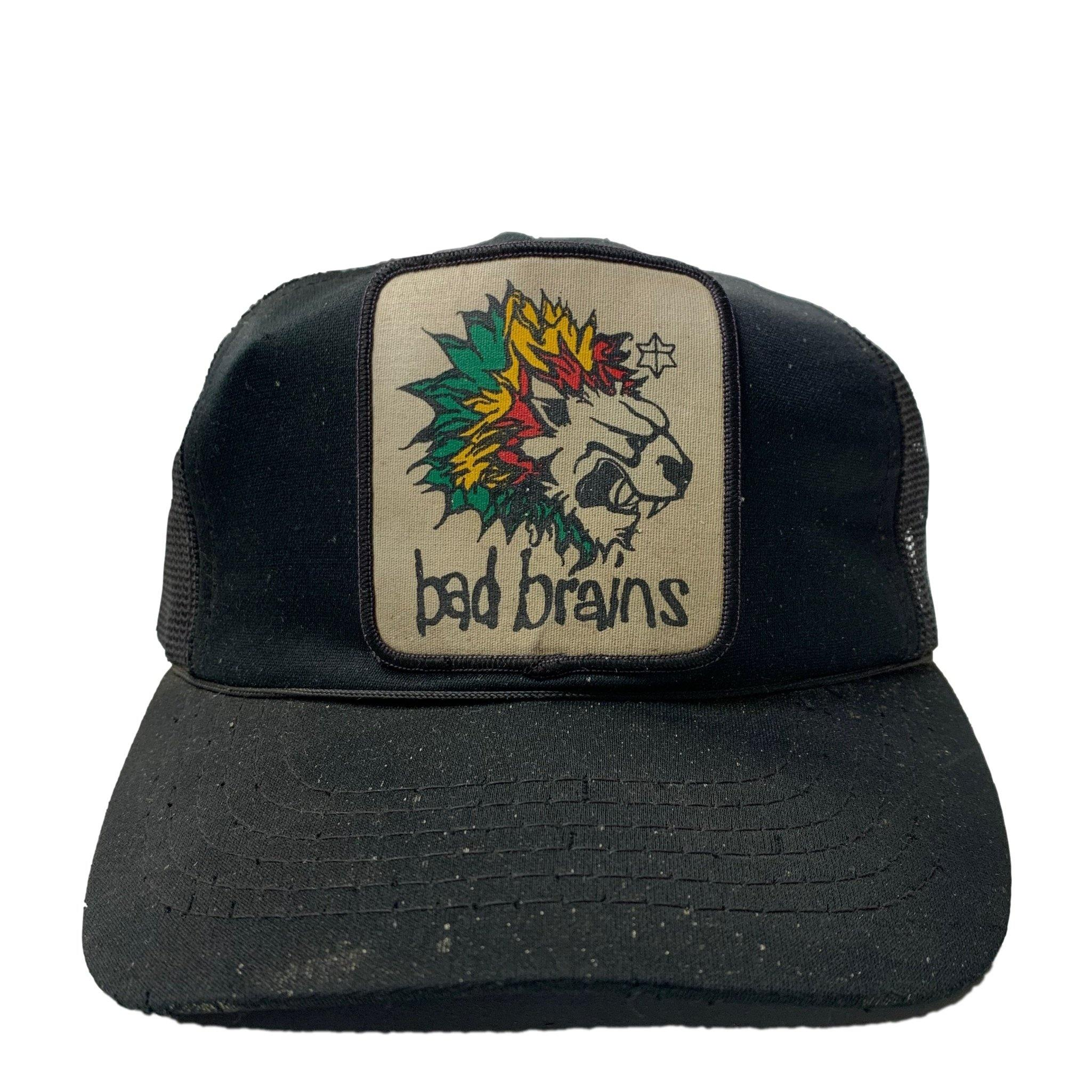 Vintage 80's Bad Brains Trucker Hat