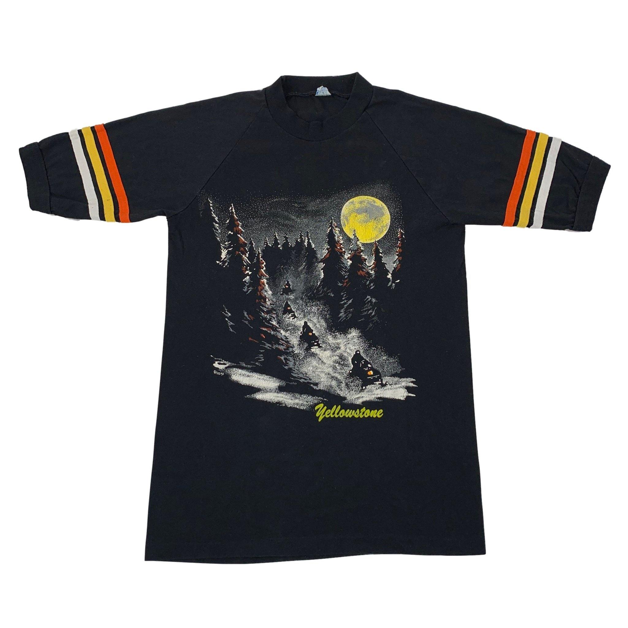 "Vintage Yellowstone ""Snowmobile"" Jersey T-Shirt"