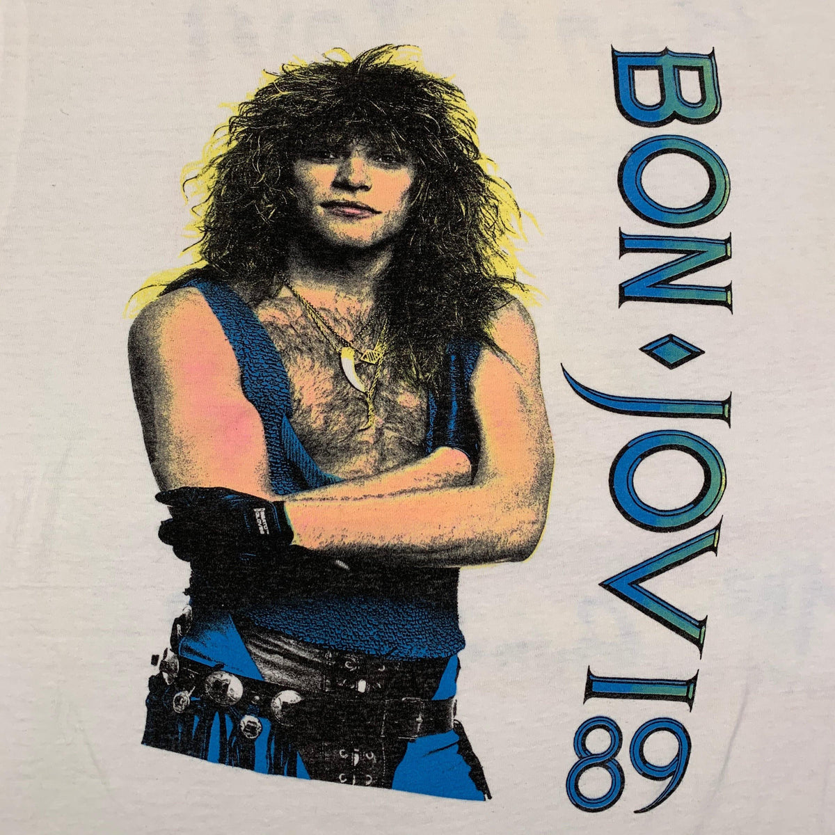 "Vintage Bon Jovi ""The Jersey Syndicate"" T-Shirt - jointcustodydc"