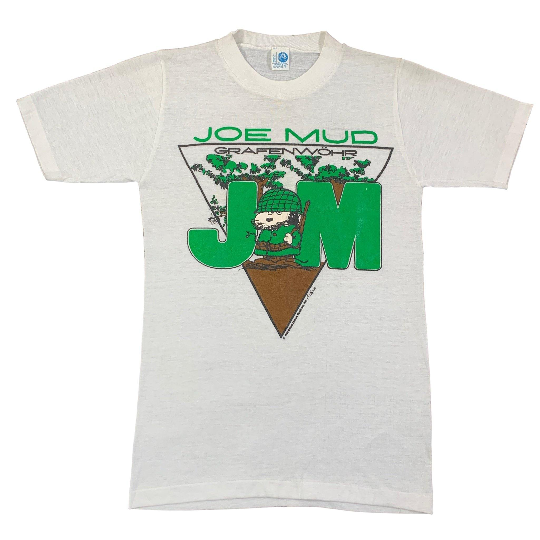 "Vintage Charles Schulz ""Joe Mud"" T-Shirt"