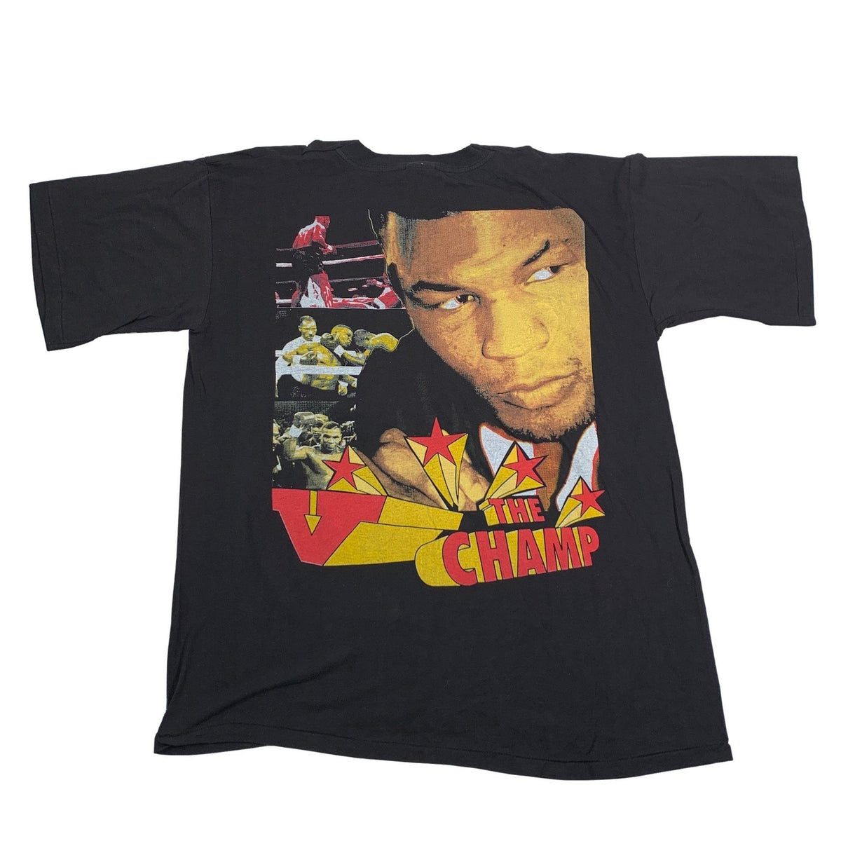 "Vintage Mike Tyson ""Welcome Home"" T-Shirt - jointcustodydc"