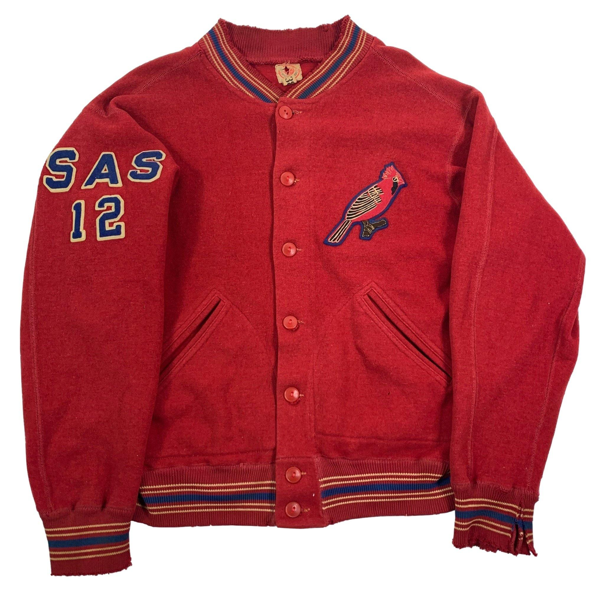 "Vintage Lowe & Campbell Athletic Goods ""SAS 12"" Jacket"